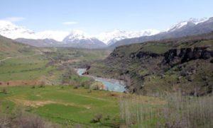 Долина реки Пскем