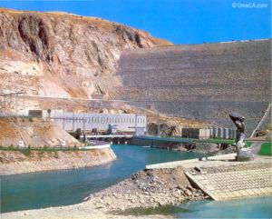 Плотина Чарвакской ГЭС