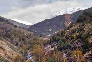 Верховье реки Акбулак