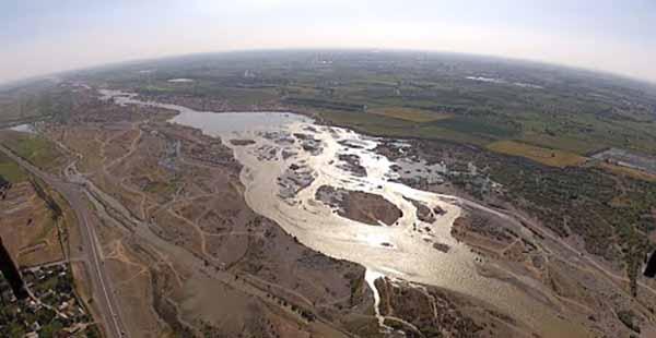 Река Чирчик.