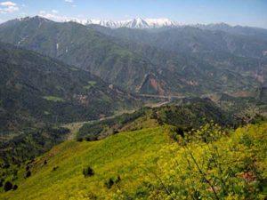 Долина реки Нурекати.