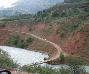 Мост через р. Пскем у слияния с Испайсаем