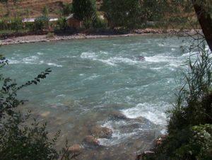 Река Угам. В низовьях.
