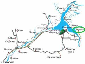 Вокруг Чарвакского водохранилища.